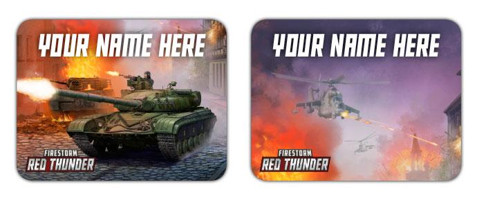 Firestorm Red Thunder