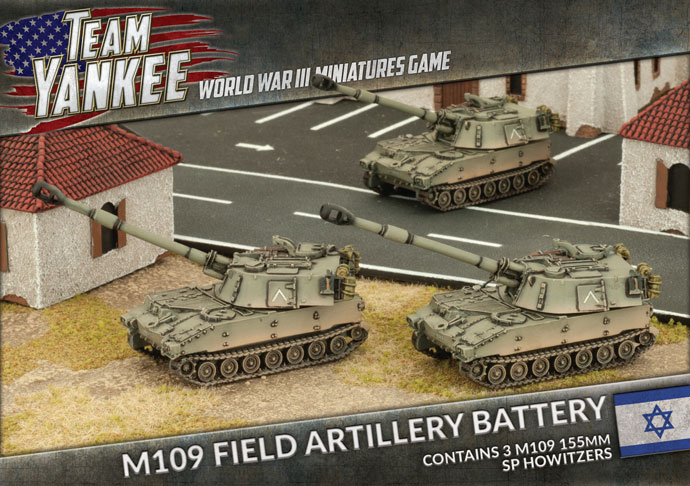 M109 SP Artillery Battery (TIBX04)