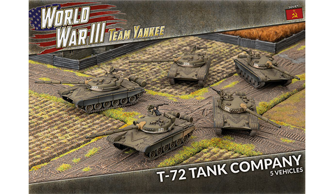 T-72 Tank Company (Plastic) (TSBX01)