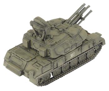 ZSU 23-4 Shilka AA Tank (TSBX05)