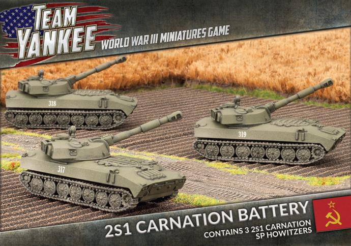 2S1 Carnation Battery (TSBX07)