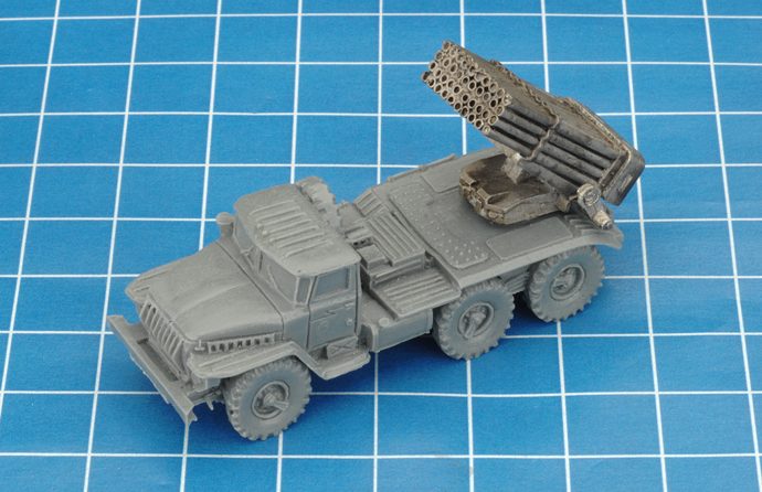 BM-21 Hail Rocket Launcher (TSBX08)
