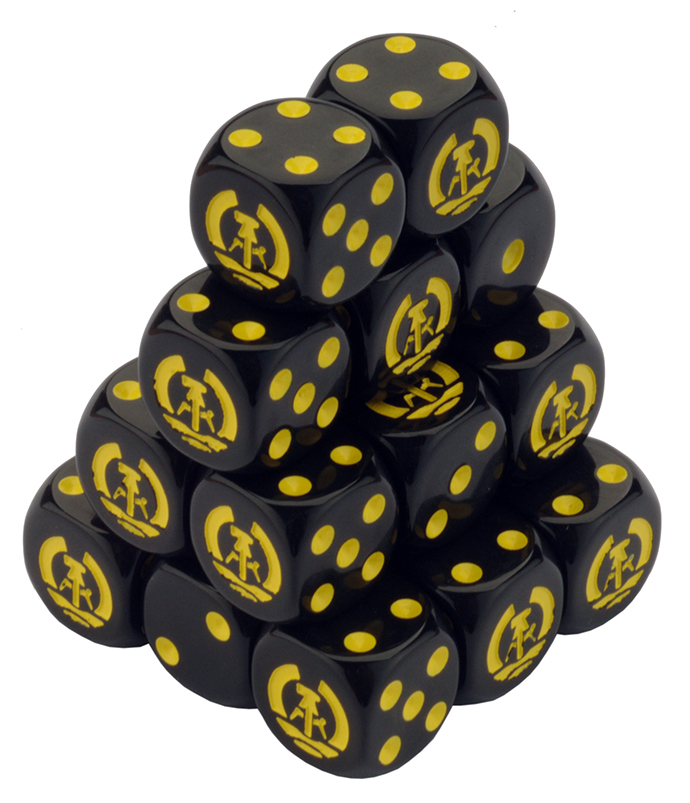 Team Yankee East German Dice Set (TEG900)