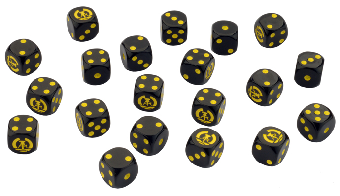 Team Yankee East German Dice Set (TGR900)