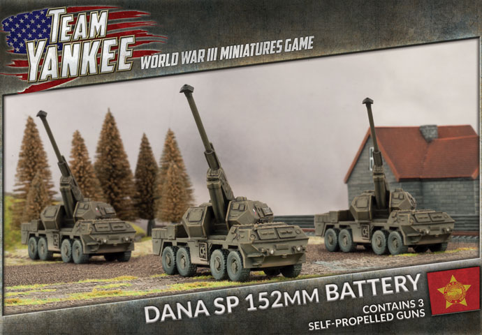 Dana SP 152mm Battery (TWBX01)