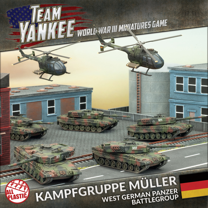 Kampfgruppe Müller – West German Panzer Battlegroup (TGRAB1)