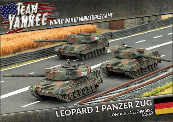 Leopard 1 Panzer Zug (TGBX03)