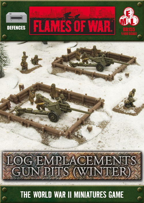Log Emplacements Gun Pits (Winter) (BB155)