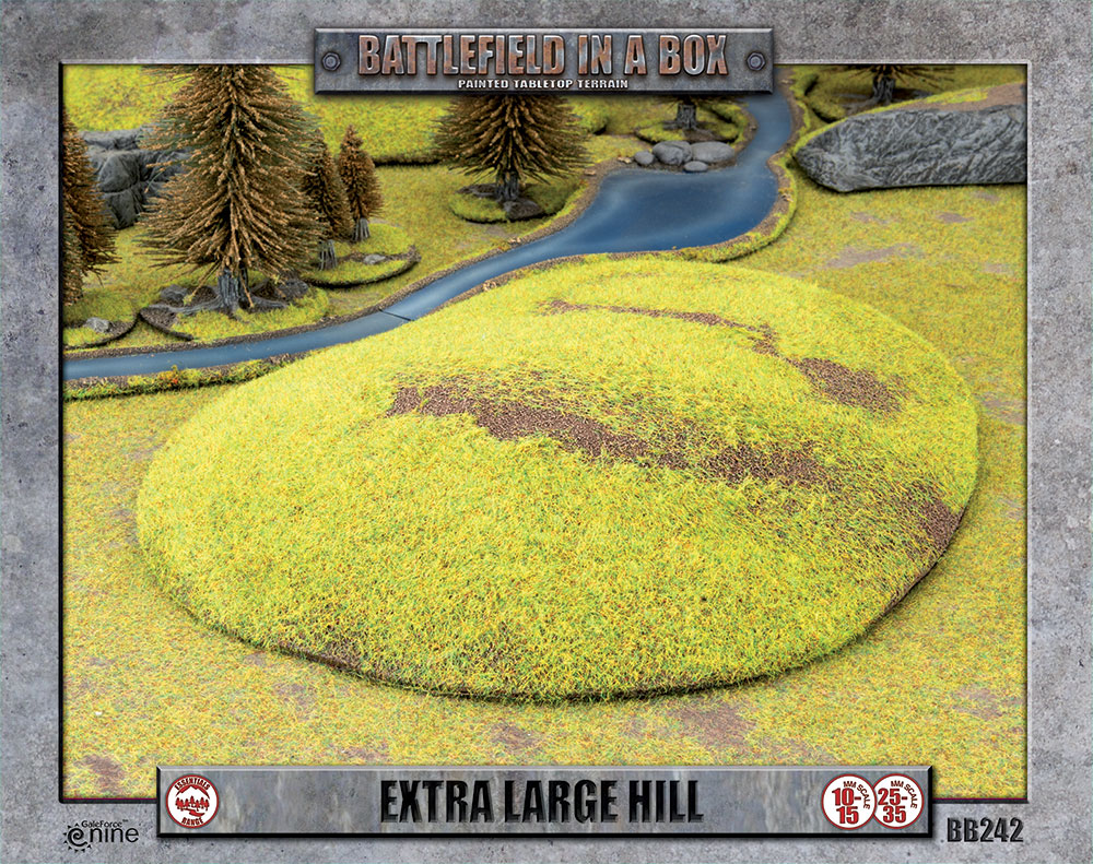 Battlefield in a Box: Extra Large Hill (BB242)