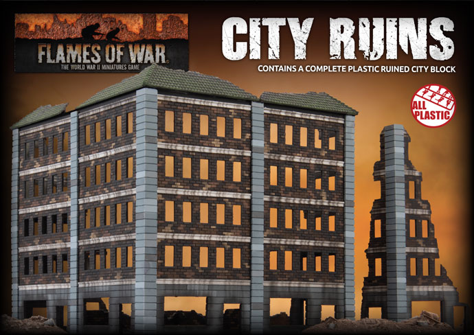 Prepare for Urban Warfare - Building the New City Ruins Kit