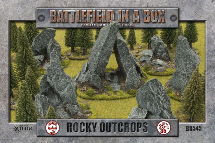 Rocky Outcorps (BB545)