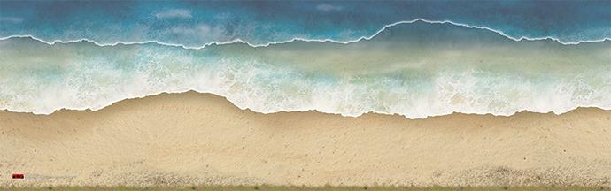 Beach Landing Mat