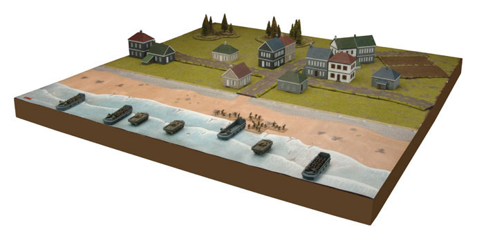 D-Day Beach Landing Mat (FW403A)