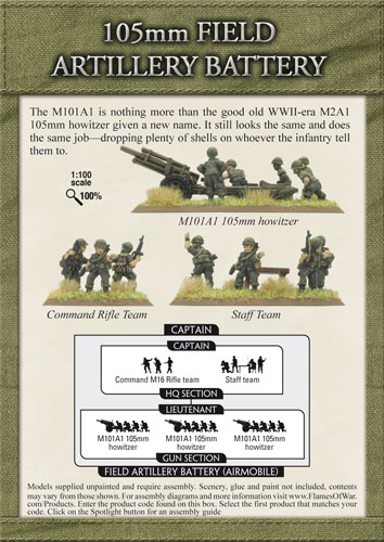 105mm Field Artillery Battery (VUSBX09)
