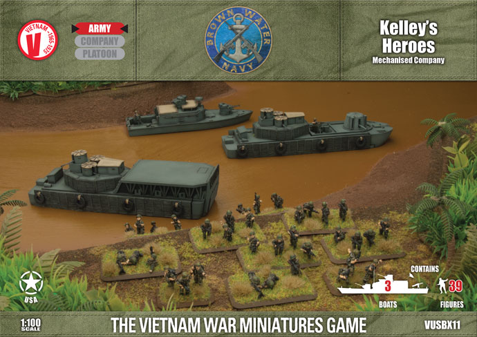 Kelley's Heroes (US Riverine Army Deal) (VUSBX11)