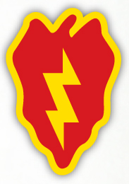 25th Infantry Division Divisional Insignia