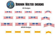 Brown Water Ensigns