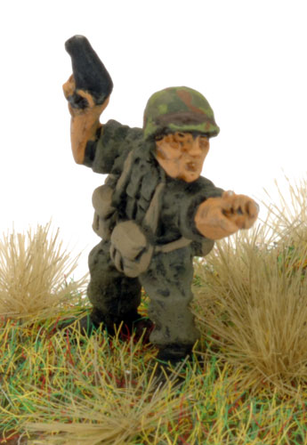 Lieutenant Colonel Hal Moore in Flames Of War Vietnam