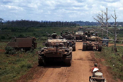 Australian Centurion Tank Operations in Vietnam