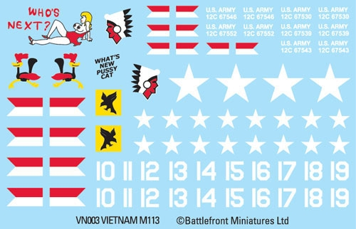 M109 Decal Sheet (VSO108)