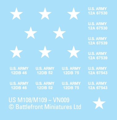 M113 Decal Sheet (VSO107)