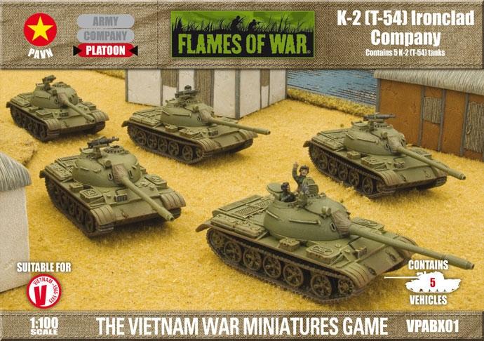 K-2 (T-54) Ironclad Company (VPABX01)