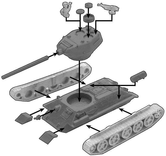 K-1 (T-34/85M) Ironclad Company (VPABX02)