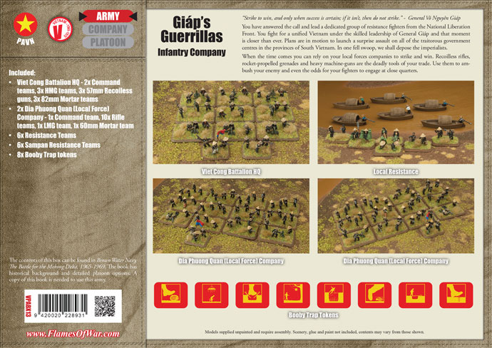 Giáp's Guerrillas (Local Forces Army Deal) (VPABX13)