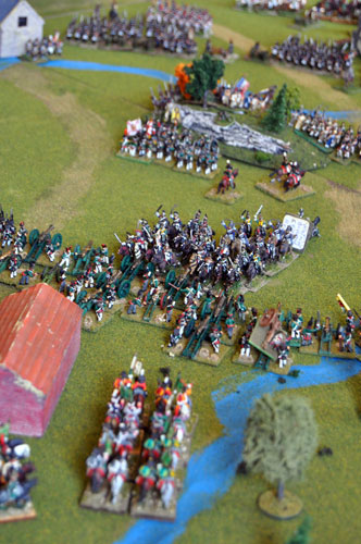 Re-fighting the Battle of Leipzig