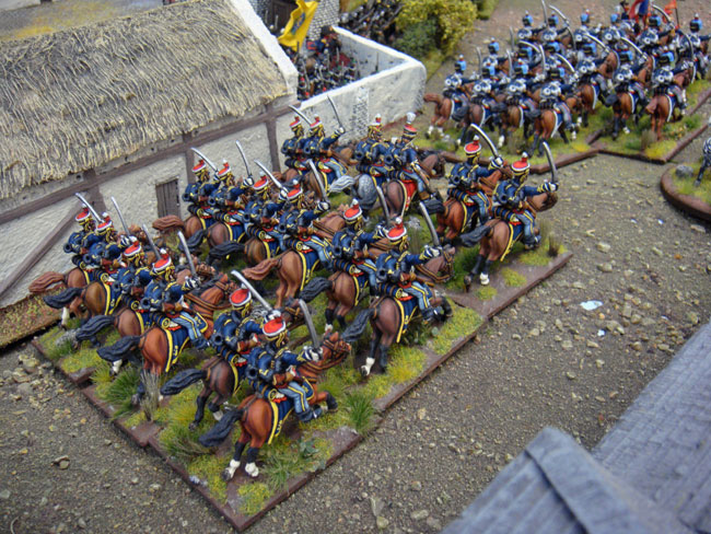 Magnificent British light dragoons