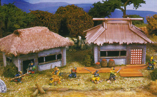 Scenario WAB: Les 7 samouraï (Wargames illustrated) SevenSamurai