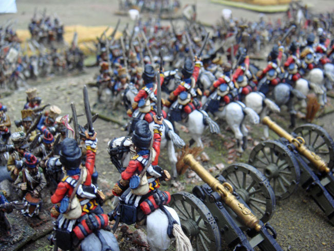 The Scots Greys charge in