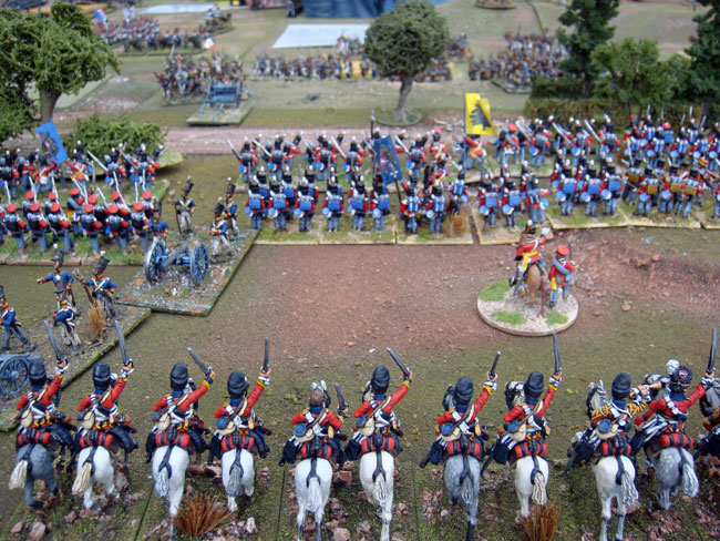 The Scots Greys prepare to attack