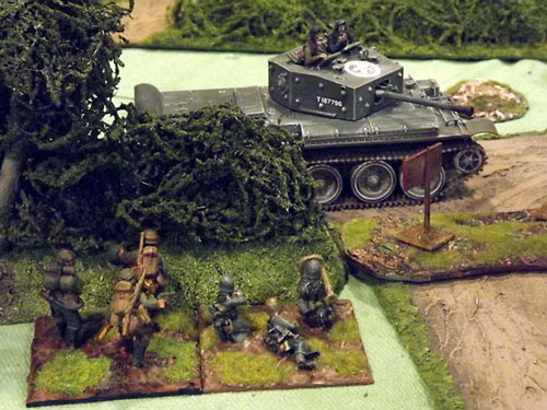 Bovington / Battlegroup South 2012