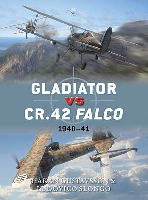 Gladiator vs CR.42 Falco: 1940–41