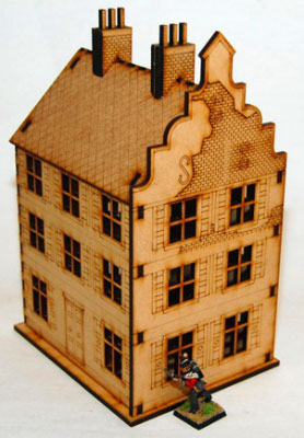28mm Dutch / Belgian Buildings by Sarissa Precision