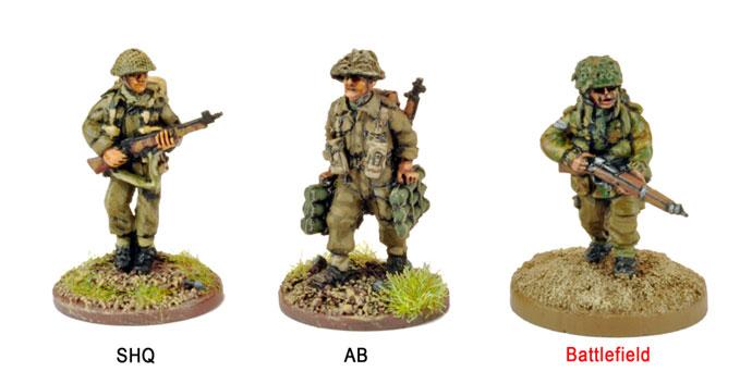 20mm WWII British Paras