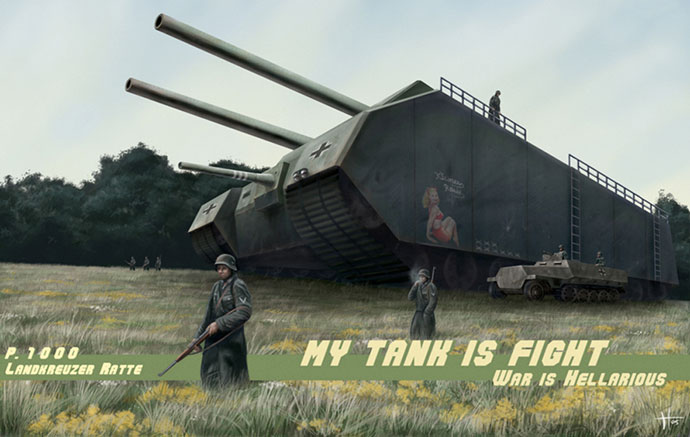 My Tank Is Fight!: An Evolution Of The Tank Review