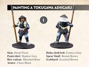 Trucs & astuces : peintures figurines PaintingSamurai