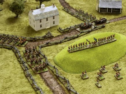 Modelling hills in wargames