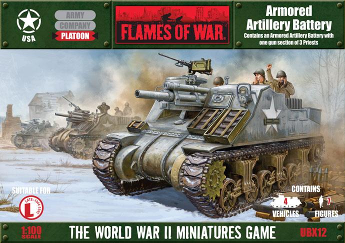 Artillery Battery Flames of War