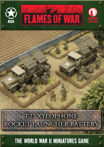 T27 Xylophone Rocket Launcher Battery (UBX39)