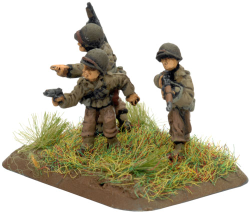 The Devil's Brigade Platoon Pioneer Command Rifle/MG Team (US748)