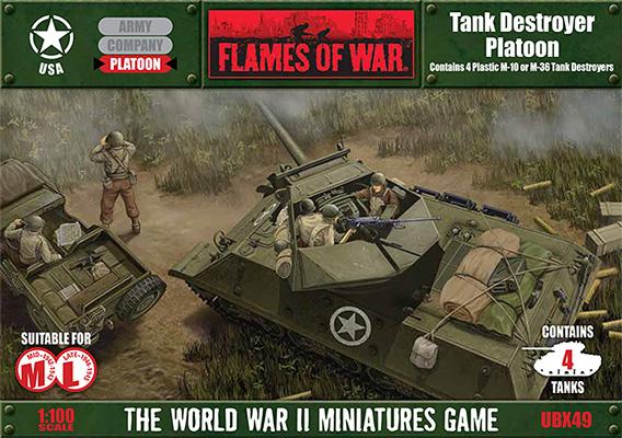 Fielding The M36B1 Using Flames Of War Plastics