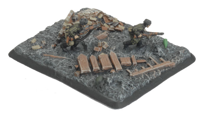 The Flames Of War Logo Objective