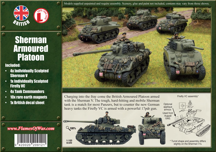 Armoured Platoon Box Back