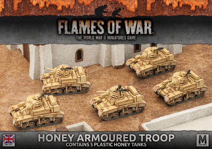 Honey Armoured Troop (BBX32)