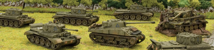 Cromwell and Firefly tanks