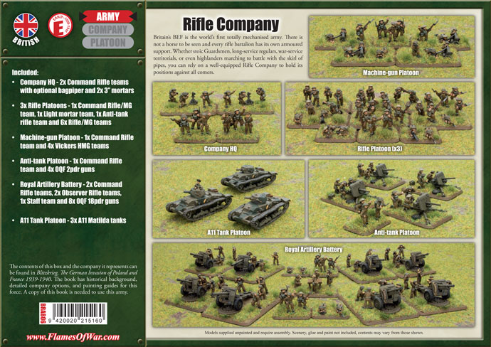 BRA06 British Early War Rifle Company