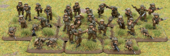 The British Rifle Platoon
